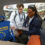 Elections: EU Observers Visit Buhari, Rule Out Monitoring North-East
