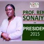 2015 Elections: Meet Prof. Remi Sonaiya, The Only Female Presidential Candidate Of KOWA Party